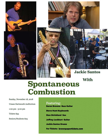 Jackie Santos With Spontaneous Combustion